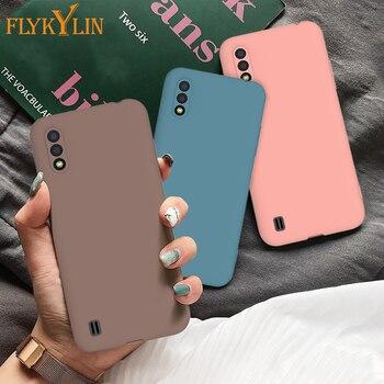 FLYKYLIN silikonowy matowy pokrowiec na xiaomi Redmi 7A pokrowiec na xiaomi Redmi 7 8A 6 6A uwaga 6 7 8 Pro 8T cukierki kolor szczupły futerał na telefon