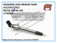 GENUINE AND BRAND NEW DIESEL FUEL INJECTOR A2C59517051, BK2Q 9K546 AG, BH1Q 9K546 AB, 1746967, LR032067, 9801125480, A2C20057433