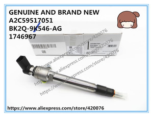 Image 1 - GENUINE AND BRAND NEW DIESEL FUEL INJECTOR A2C59517051, BK2Q 9K546 AG, BH1Q 9K546 AB, 1746967, LR032067, 9801125480, A2C20057433