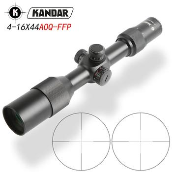 Pierwszy luneta myśliwska KANDAR FFP 4-16x44ffp optyka luneta myśliwska tanie i dobre opinie Karabin Obiektyw Kandar 4-16x44ffp