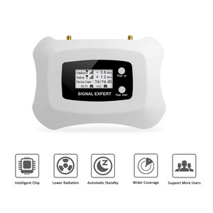 Image 3 - 스마트 3G WCDMA 2100 휴대 전화 신호 리피터 밴드 1 UMTS 3G 2100MHz 신호 증폭기 70dB 이득 LCD 디스플레이 3G WCDMA 부스터