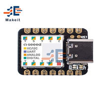 Usb tipo-c nano samd21 48mhz cortex m0 xiao 32 bit microcontrolador placa de desenvolvimento módulo para arduino iot relógio inteligente