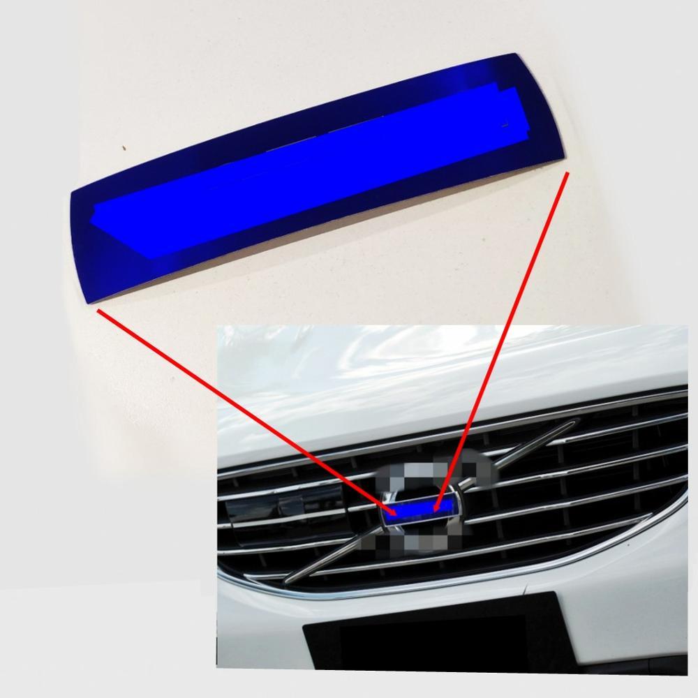 Для XC60 S60 XC70 XC90 S40 V40 V60 автомобиль передний знак переднего бампера сетки знак этикетка решетка VOLVO синий значок Логотип, эмблема OEM31214625