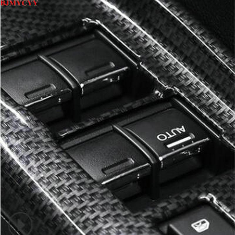 BJMYCYY автомобильный стеклоподъемник кнопки украсить блестками наклеиваемого покрытия для автостайлинга из ABS 7 шт./компл. для Honda 9th civic 12 15 City SHUTTLE автомобильные аксессуары|Наклейки на автомобиль|   | АлиЭкспресс