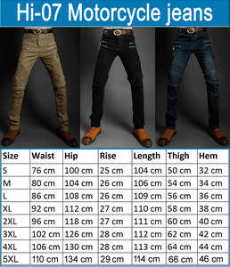 Image 2 - Motorcycle jeans 2019 Pantalones Motocicleta Hombre Featherbed Jeans The Standard Version Car Ride Trousers pant motorcycles men