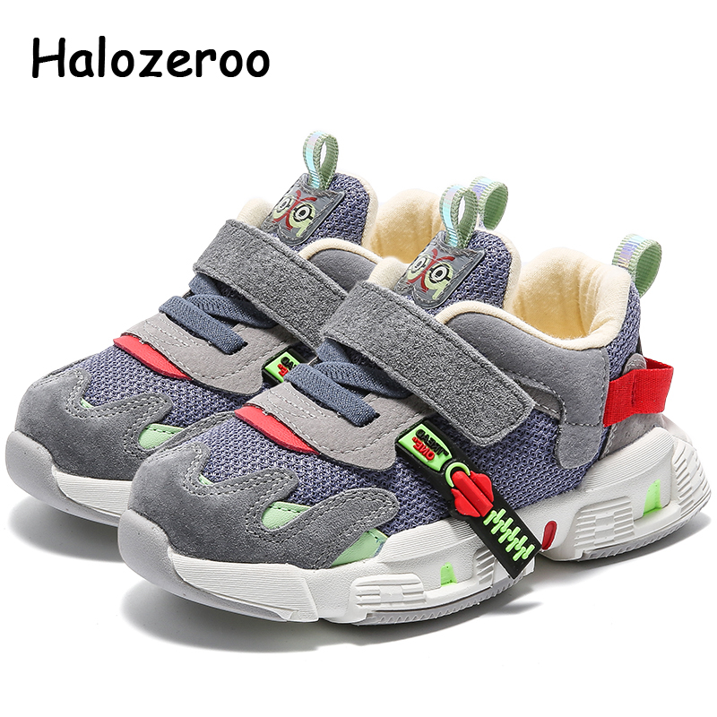 Spring Toddler Casual Sneakers Children Sport Sneakers Baby Girls Mesh Brand Shoes Boys Genuine Leather Sneakers Trainers 2020|Sneakers| |  - title=