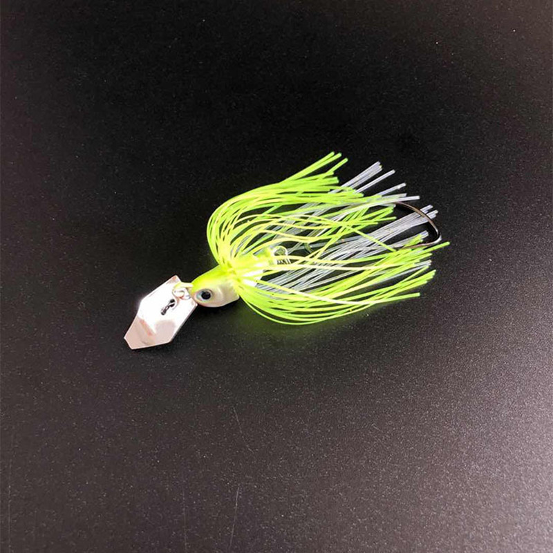 Chatterbait Fishing Lures 7cm13/17g Fishing Tackle Spinnerbait Fishing Accessories Isca Artificial Buzz Fish Bait Pesca-4