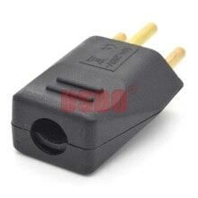 Schwarz weiß 250v 10A universal abnehmbare verdrahtung adapter stecker EU Schweizer standard 3pins industrie maschine power kabel männlich buchse