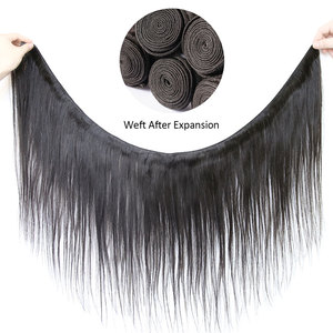 Image 3 - 30 32 36 40 Inch Straight Hair Bundles Long Length Indian Hair Weave Bundles 100% Human Hair Extentions Natural Color Remy Hair