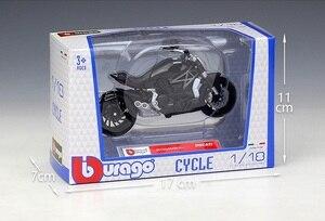 Image 4 - Bburago 1:18 Ducati XDiavel S Schwarz SuperMotor Modell Bikes druckguss Motorrad