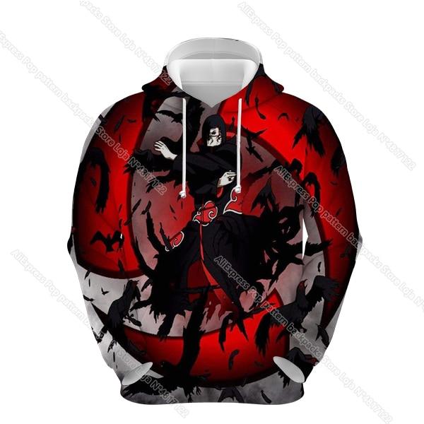 Купить naruto hoodies sweatshirts clothes akatsuki men women hoodie