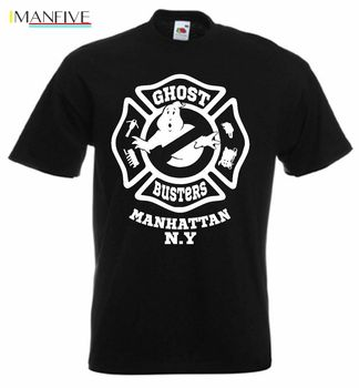 Ghostbusters 80s Movie T Shirt New Men'S Fashion Short-Sleeve T Shirt Mens Cotton Hight Quality Man T-Shirt Top Tee Plus Size