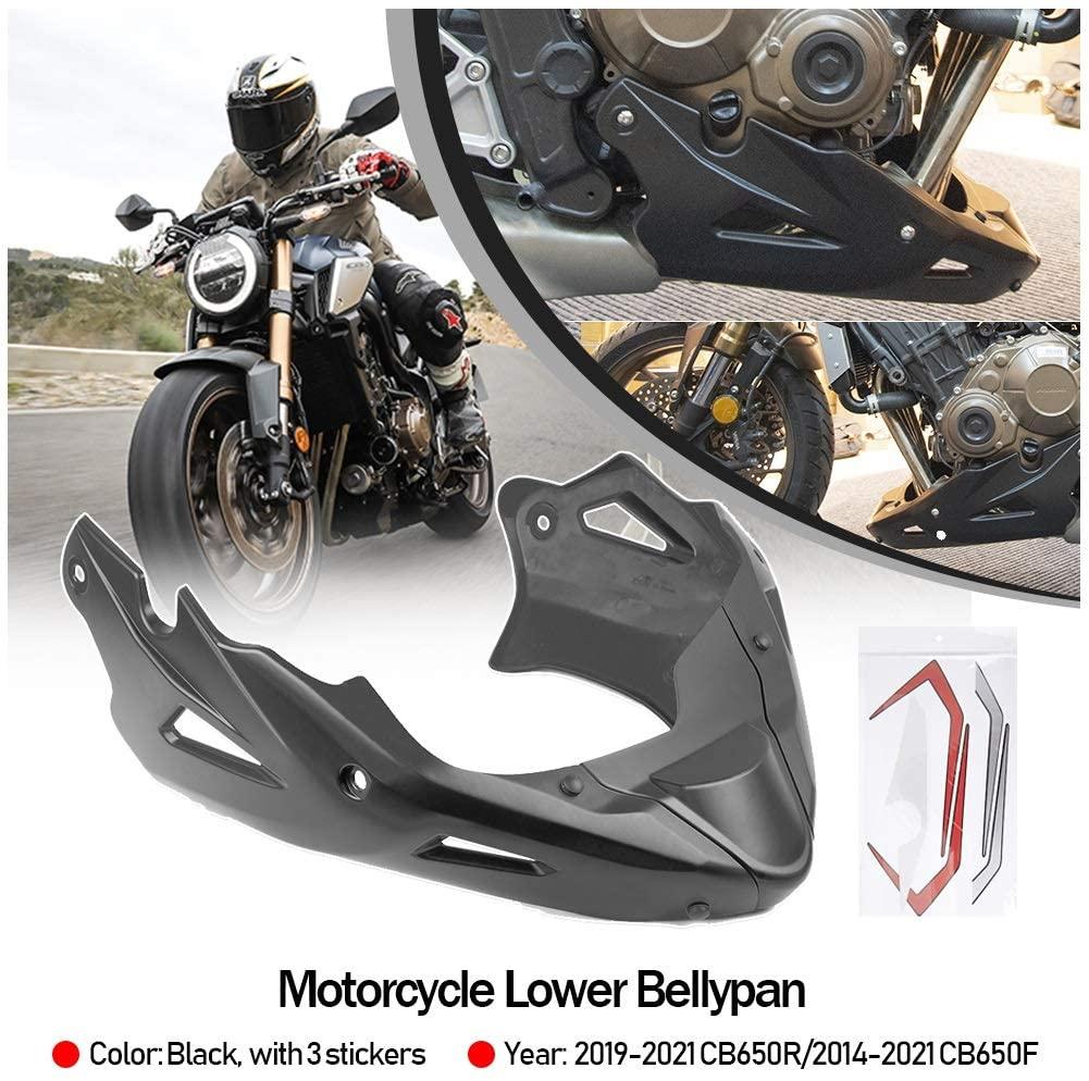 Спойлер для передней панели двигателя CB650R Нижняя обтекатель корпуса Защитная панель Bellypan для Honda CB650F CB650FE 2014-2021 2019 2020
