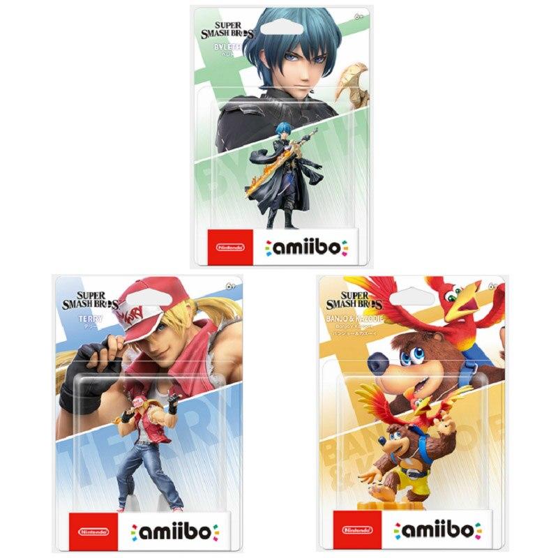Новый выпуск 2021 года! Nintendo Amiibo Super удар. Серия Byleth Banjo Kazooie Terry