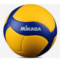 Оригинальный Волейбольный мяч MIKASA V300W FIVB, для тренировок, для взрослых, мягкий жесткий Волейбольный мяч No. 5 V300W