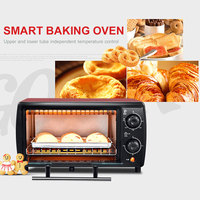 Double Layer Household Electric Oven 12L Multi Function Oven Mini Oven Exquisite and Beautiful Graceful Design Fashion Washable