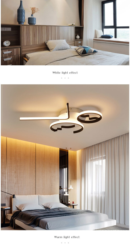 Hae6f5793926442ceb5ce52f5ccac1bd7o Aluminum Wave Ceiling Lights Modern LED Lamp for Living room Bedroom luminaire plafonnier Bedroom Ceiling Lamp Lampara de techo