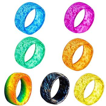 Lateefah Resin Thermochromic Glow Ring US Size 12-13 (Contact us before placing the order, otherwise we can't deliver goods image