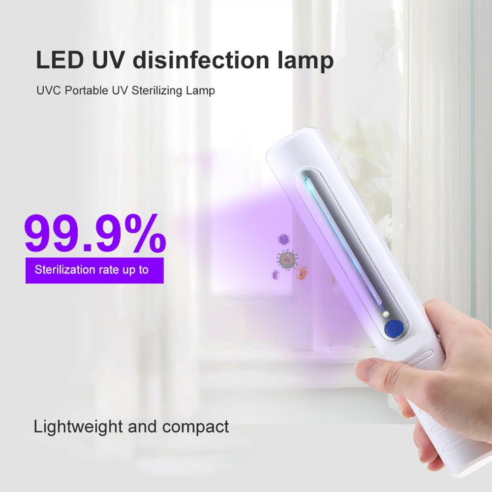 Portable Ultraviolet UV Sterilizer Light Tube Bulb Disinfection Bactericidal Lamp Ozone Sterilizer Mites Lights HOT