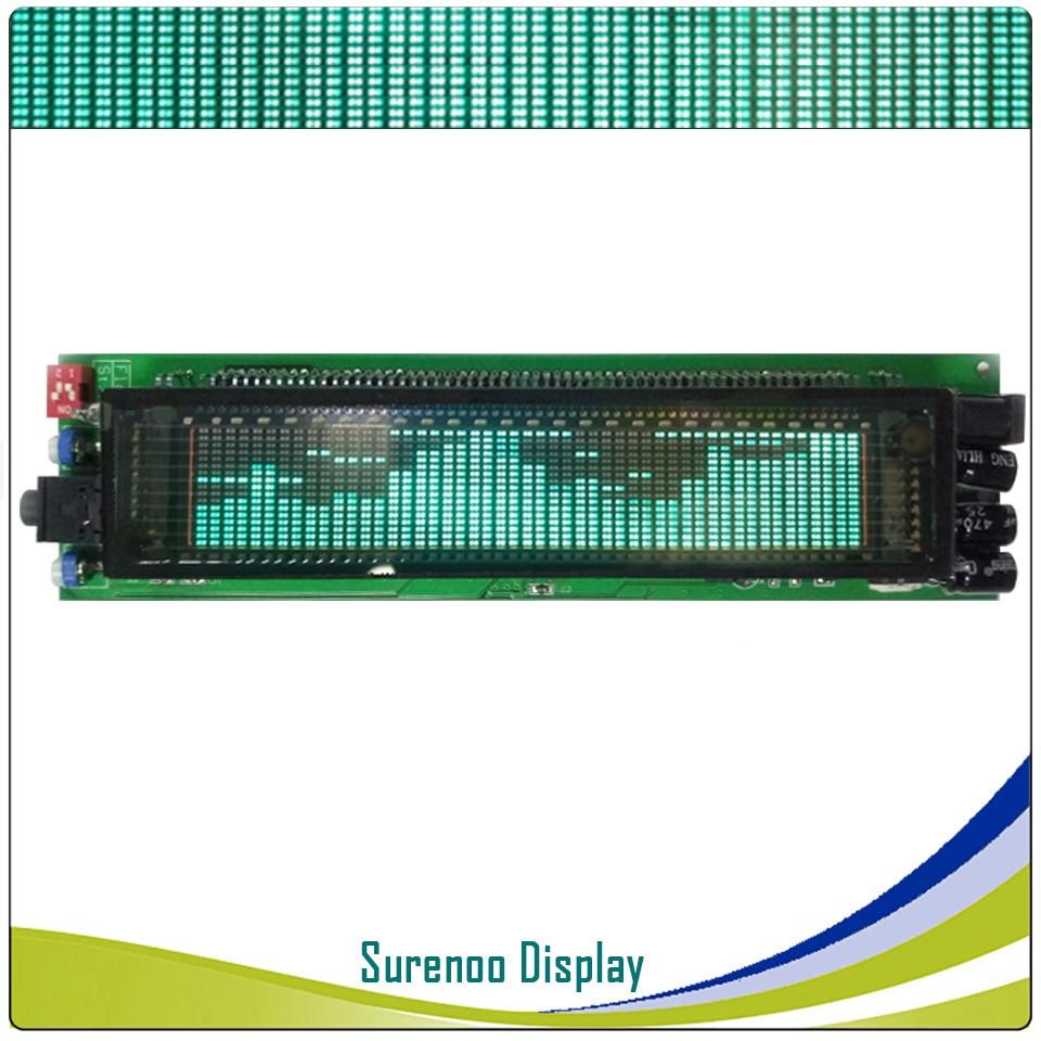 DIY VFD Music Spectrum 25 Frequency 17 Level LED Display VFD Segment Digital 12V for Car Modification Home Audio Conversion