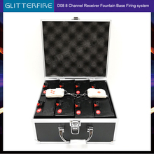 D08 remote control wireless 8 cues receiver stage wedding equipment pyro fountain base machine