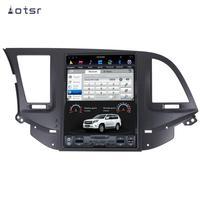 AOTSR Tesla Auto Android 9 PX6 Car Radio For Hyundai Elantra 2017 2020 GPS Navigation DSP Multimedia Player CarPlay Unit