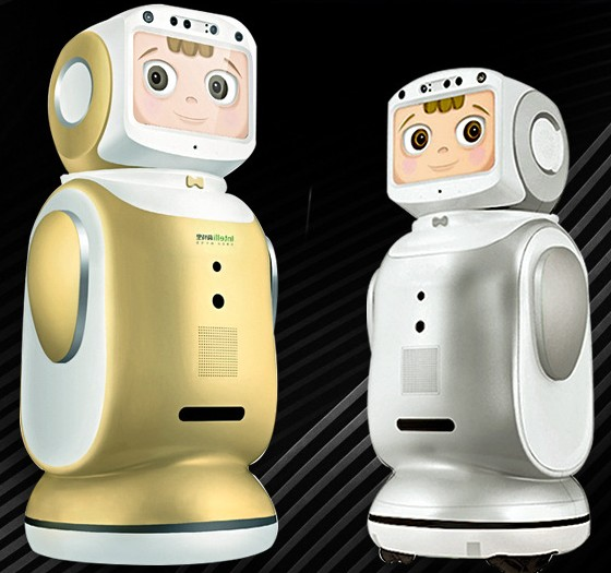 Smart robot can program dialogue voice video chat monitoring accompanying robot 2