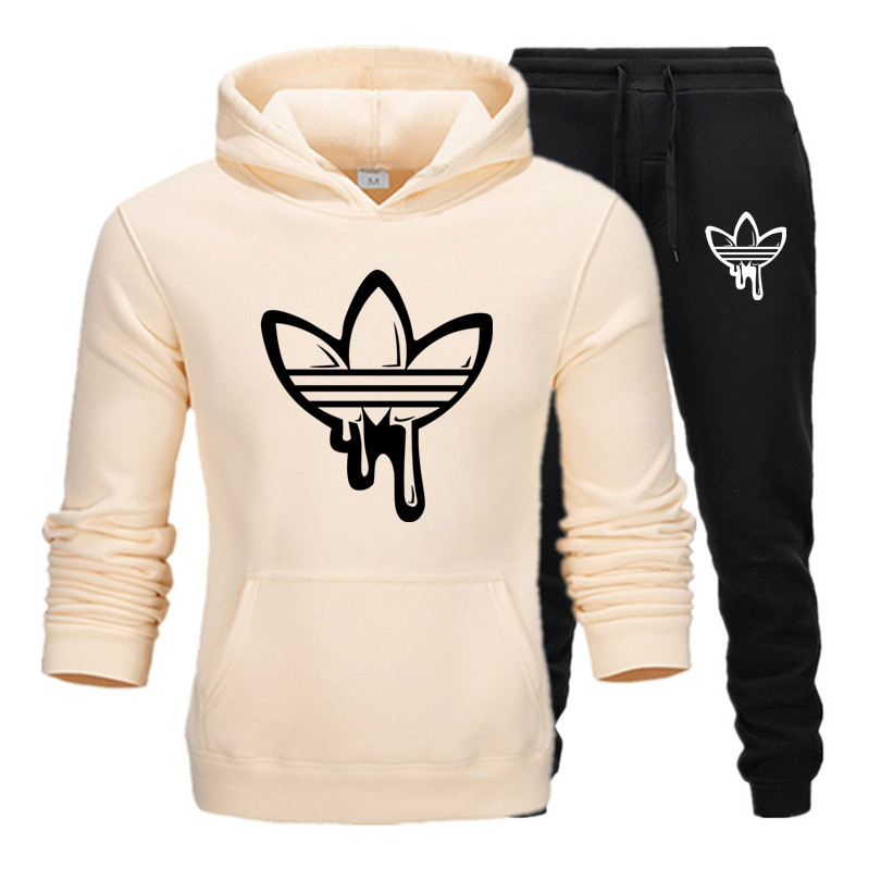 2019 New Fashion Men's Brand Hooded Sweatshirt Sportswear Men's And Women's Sportswear Hoodies Winter And Autumn Hoodies + Pants