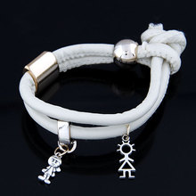 Special Offer Euro-American simple leather bracelet