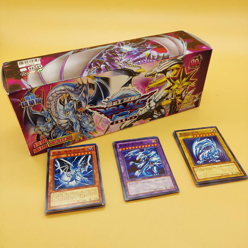 NEW Chinese Version 408PCS Duel Monsters YU GI OH Game Collection Carte Trading Cards Game With Beautiful Box