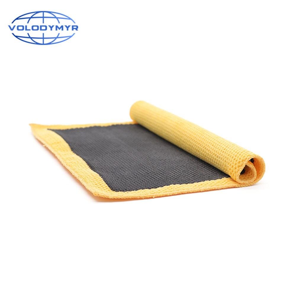 Car Wash Magic Clay Bar Mitt Cloth Detailing Cleaning Microfiber Sponge Pad Clay Towel Auto Care Clean Detail Carwash Cleaner