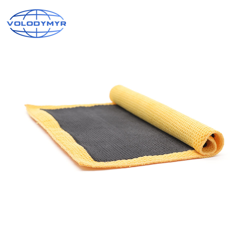 Car Wash Magic Clay Bar Mitt Cloth Detailing Cleaning Microfiber Sponge Pad Clay Towel Auto Care Clean Detail Carwash Cleaner image