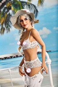 Image 3 - 165cm jessica love doll exquisite grande mama silicone sexo boneca masculina realista vaginal oral ass tpe com esqueleto