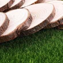 10 sztuk DIY ręcznie malowanie drewniane kawałki kreatywny kubek Coaster moda fotografia rekwizyty (7-8x1cm) tanie tanio CN (pochodzenie)