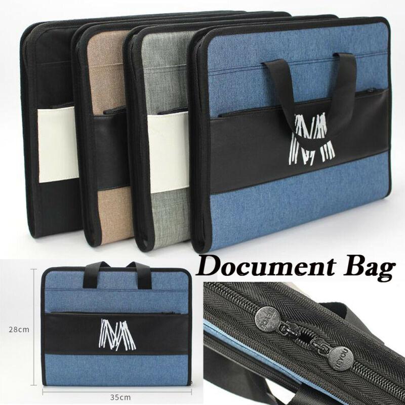 A4 Zipper Expanding File Filing Folder Letter Storage Organiser A-Z 13 Pockets