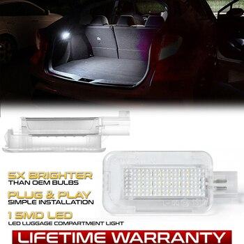 LED Luggage Compartment Interior Lights Trunk Lamp For Honda Civic Accord City CR-Z CR-V Jazz Fit Crosstour FR-V HR-V Insight 1