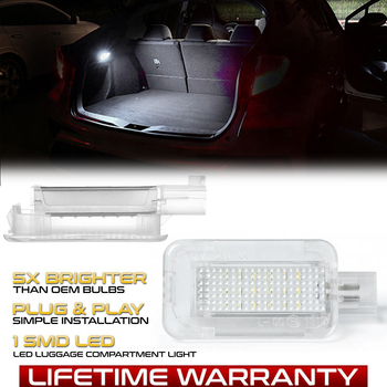 LED Luggage Compartment Interior Lights Trunk Lamp For Honda Civic Accord City CR-Z CR-V Jazz Fit Crosstour FR-V HR-V Insight