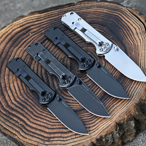 Image 3 - Sanrenmu NEW 7010 8CR14Mov Blade Steel Handle Outdoor Camping Survival Hunting Utility Knife Super Military EDC Pocket Tool 710