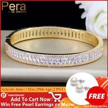 Bracelet Bangle Jewelry Cubic-Zircon Dubai-Bridal Indian Wedding-Gift Gold-Color Vintage