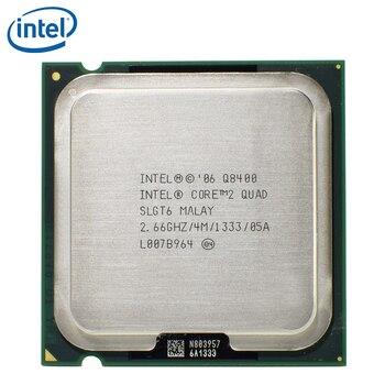 Intel Core 2 Quad Q8400 Processor 2.66GHz 95W LGA 775 4MB Cache FSB 1333 Desktop LGA775 CPU tested 100% working