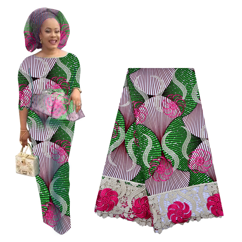 Best Selling African Swiss Voile Lace Fabric High Quality Cotton Lace Fabric Nigerian Embroidered Lace Fabric For Woman