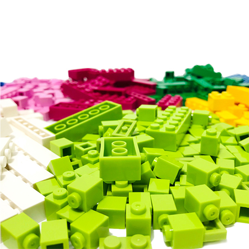 <font><b>1000</b></font> <font><b>Pcs</b></font> Building Blocks Set DIY Micro Bricks Educational Model Building Hobbies Kit Toys for Children Compatible All Brands image