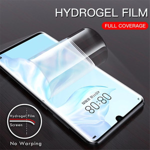 Image 2 - 3Pcs Hydrogel Protective Film For Huawei P30 P40 P20 lite Mate 10 20 Pro Screen Protector For Huawei P30 P20 P40 Pro lite Film