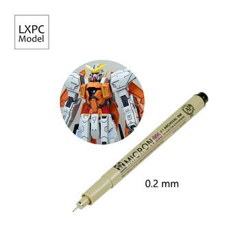 Gundam model wojskowy użyj pióro do rysowania linii hak linia pióro Model kolorowanie narzędzie 0 2mm tanie i dobre opinie lexinpinchuang CN (pochodzenie) Z tworzywa sztucznego Do not eat Film i telewizja 14 lat Unisex Model Tools