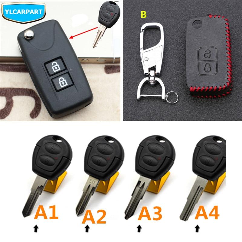 For Chery QQ 3 6 IQ QQ3 QQ6 Fulwin Cowin A3 Car remote key shell case|Key Case for Car| |  - title=