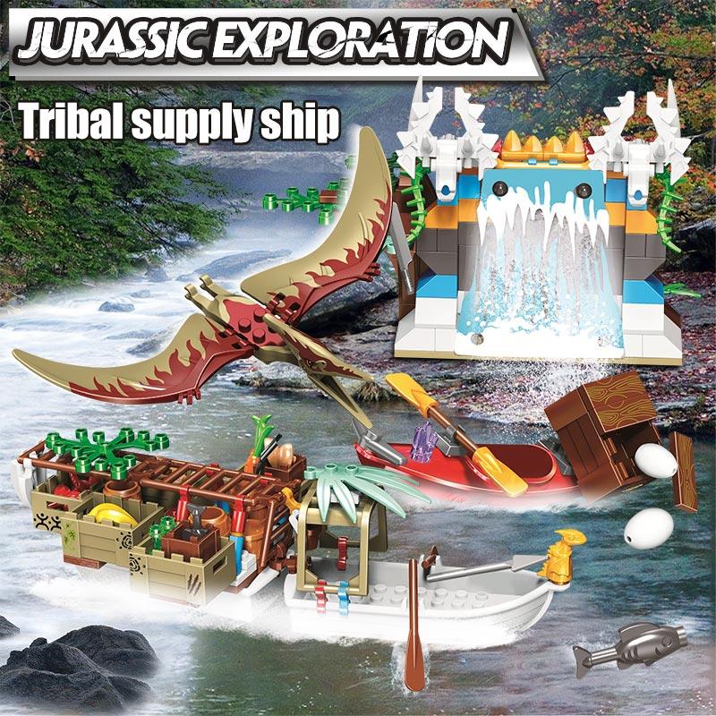 Winner Tribe Supply Ship Building Blocks