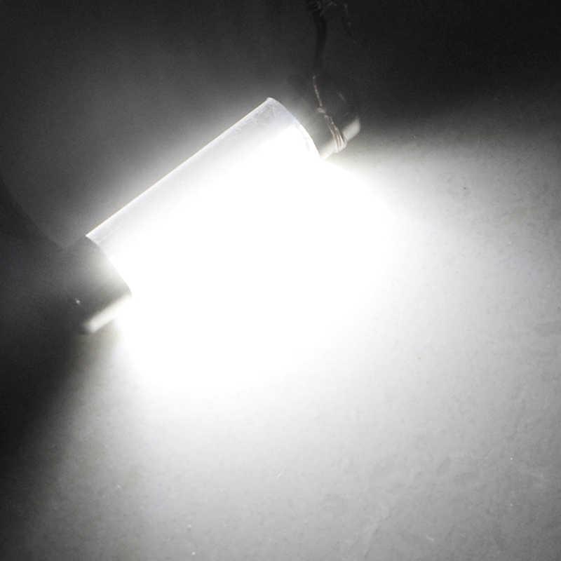 1PCS Festoon Dome 31mm 36mm 39mm 41mm c5w 212-2 6418 Cold White Reading License Plate Lamp led Light Bulb Milky Cover Bulbs 12V