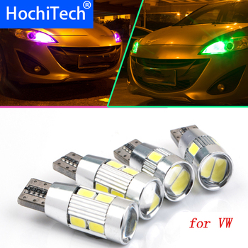1pc Safe No Error T10 Light W5W High Brightness LED Canbus For VW Volkswagen Jetta Lavida Polo Bora Vistar Caddy Santana Passat image