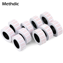 Methdic 600stickers/roll Price Label Sticker 10roll/lot for supermarket