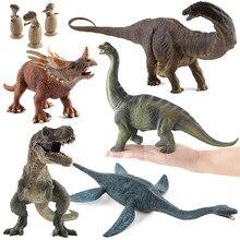 Tamanho grande dinossauro brinquedos jurássico selvagem tiranossauro rex mundo parque dinossauro modelo de ação figuras educacionais para crianças menino presente
